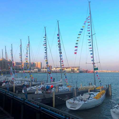 The 2020 Guangdong-Hong Kong-Macao Greater Bay Area Cup Regatta and Macao Cup International Regatta ...
